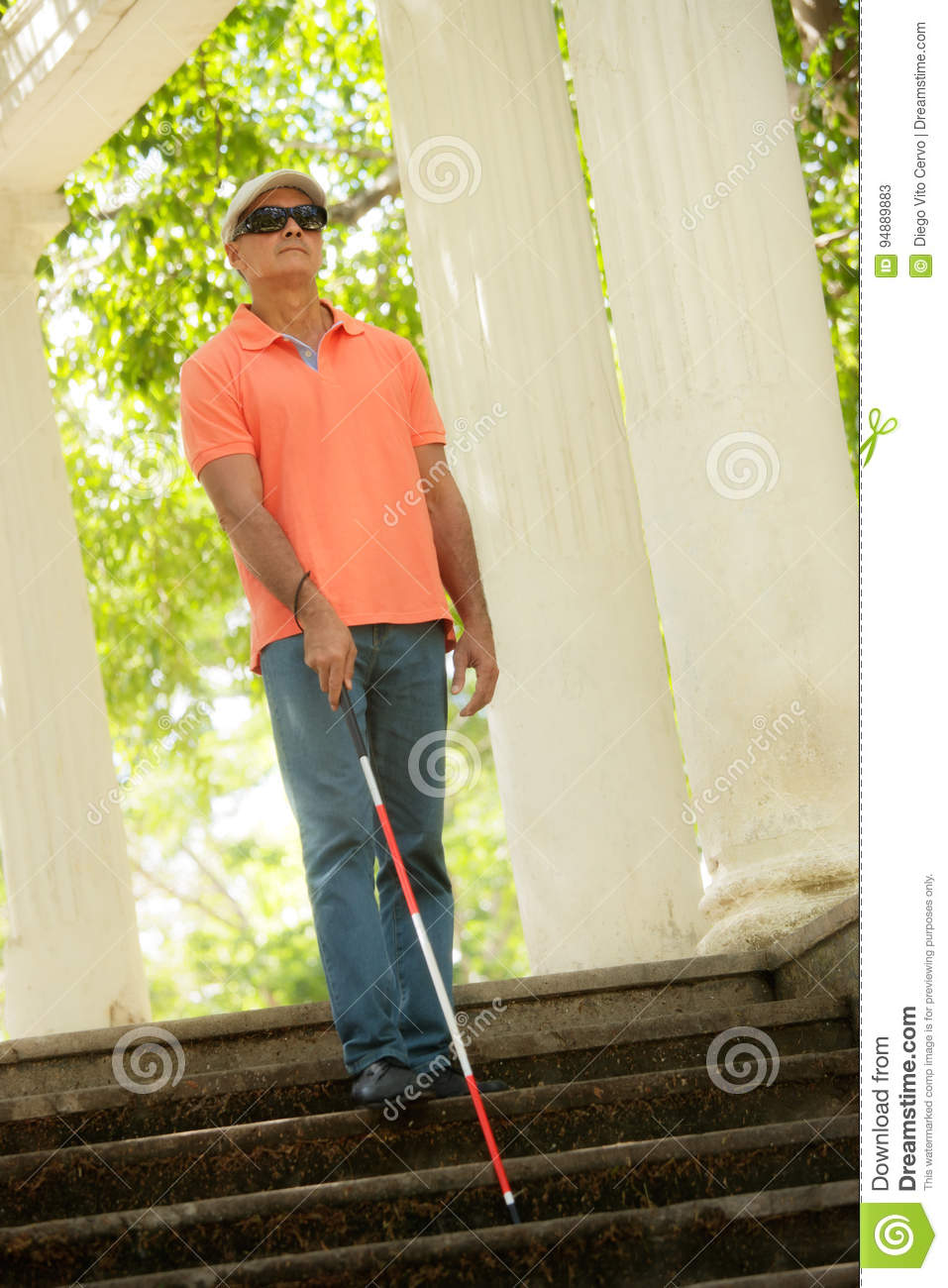 personal life of a blind person Famous people with visual impairments historically famous people with blindness or visual impairments blindness is the condition of lacking visual perception due to physiological and/or neurological factors.