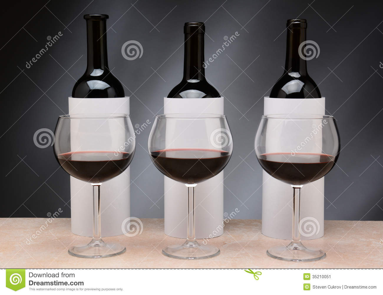 Blind Wine Tasting Stock Image Image Of Beverage Gray