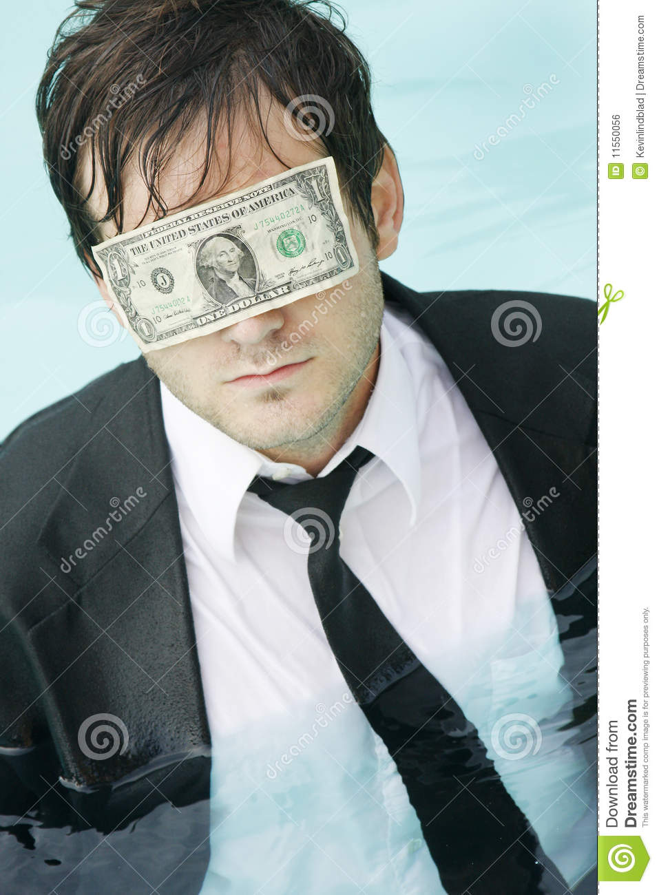 blinded by money Photo about businessman blinded with money on the dark image of manager, adult, industrial - 22156428.