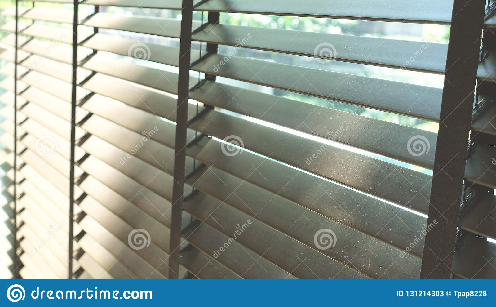 Blinds Evening Sun Light Outside Window Blinds Sunshine And Shadow On Window Blind Decorative Interior In Home Stock Image Image Of Blind Bright 131214303