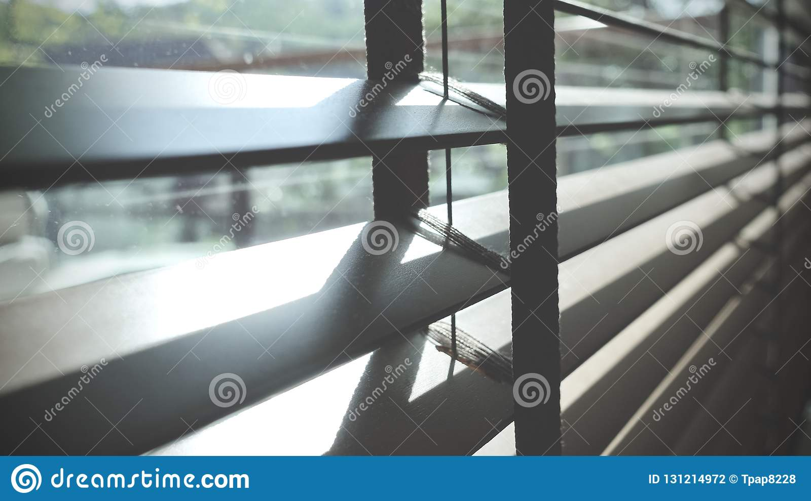 Blinds Evening Sun Light Outside Window Blinds Sunshine And Shadow On Window Blind Decorative Interior In Home Stock Photo Image Of Blind Blinds 131214972