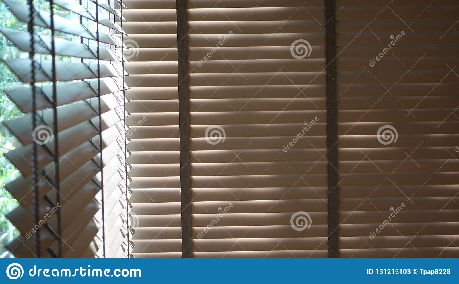 Blinds Evening Sun Light Outside Window Blinds Sunshine And Shadow On Window Blind Decorative Interior In Home Stock Image Image Of Closeup Interior 131215103