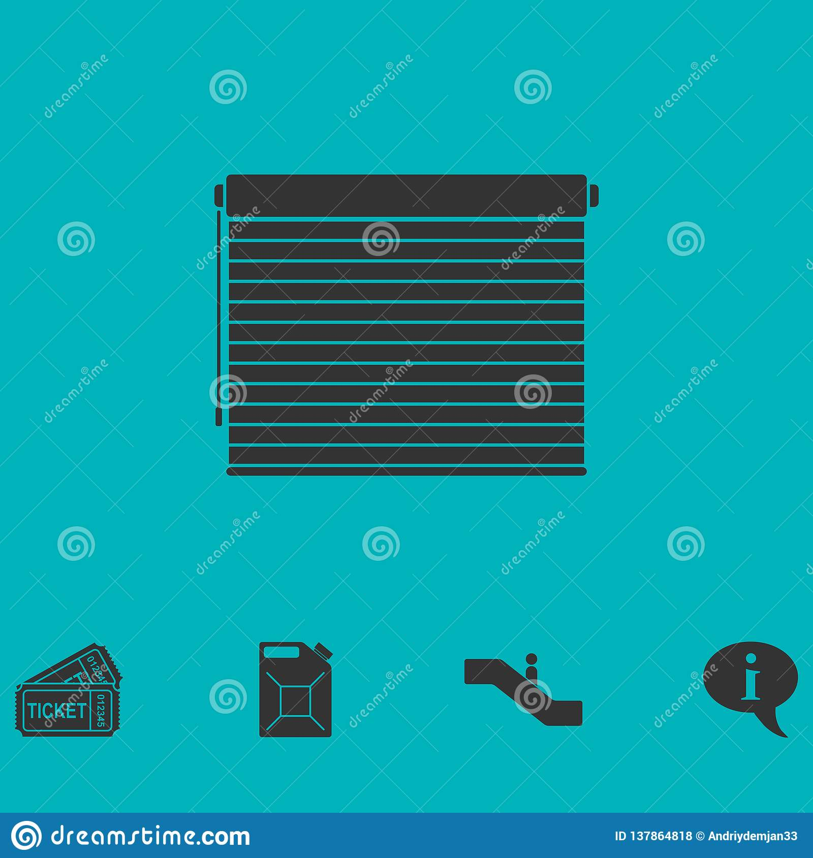 Marketing Exhibition Stand Vector : Blue roll up banner template vector illustration standy