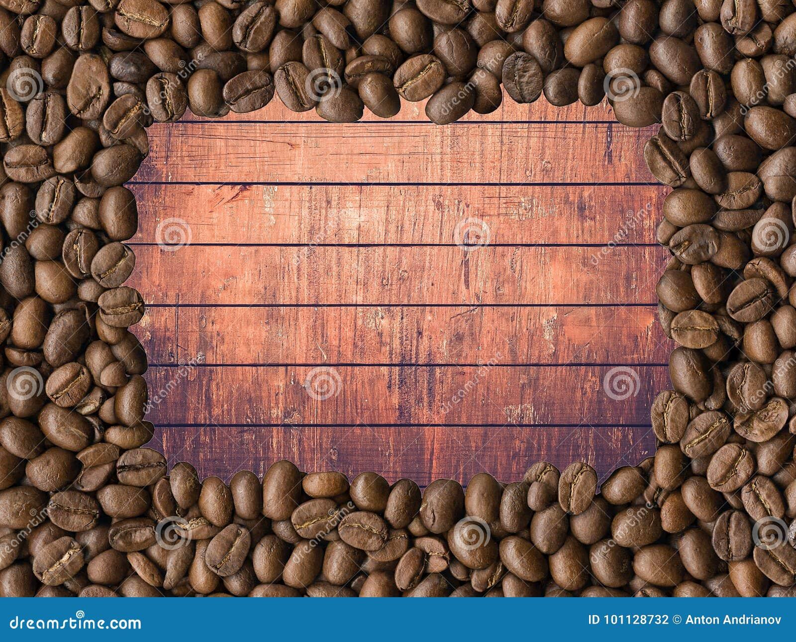 Blisko fasolę kawa wystrzelona