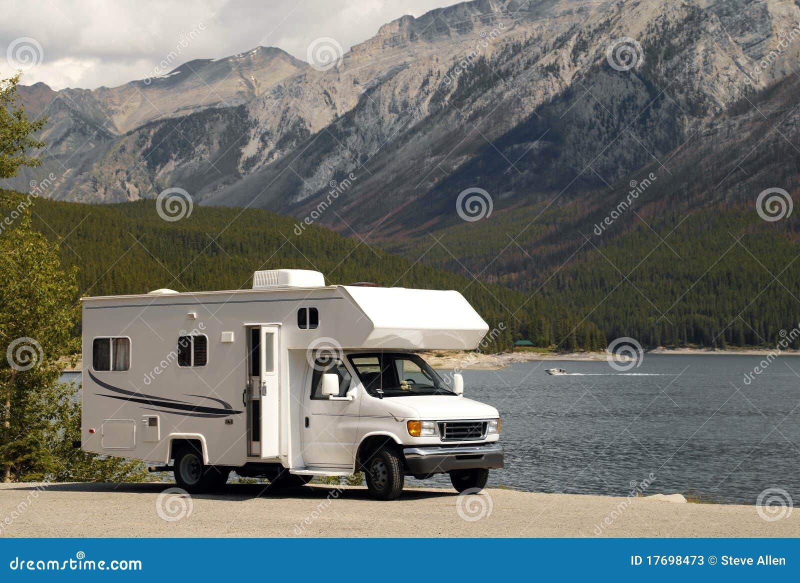 Blisko p Banff jezioro Canada n rv