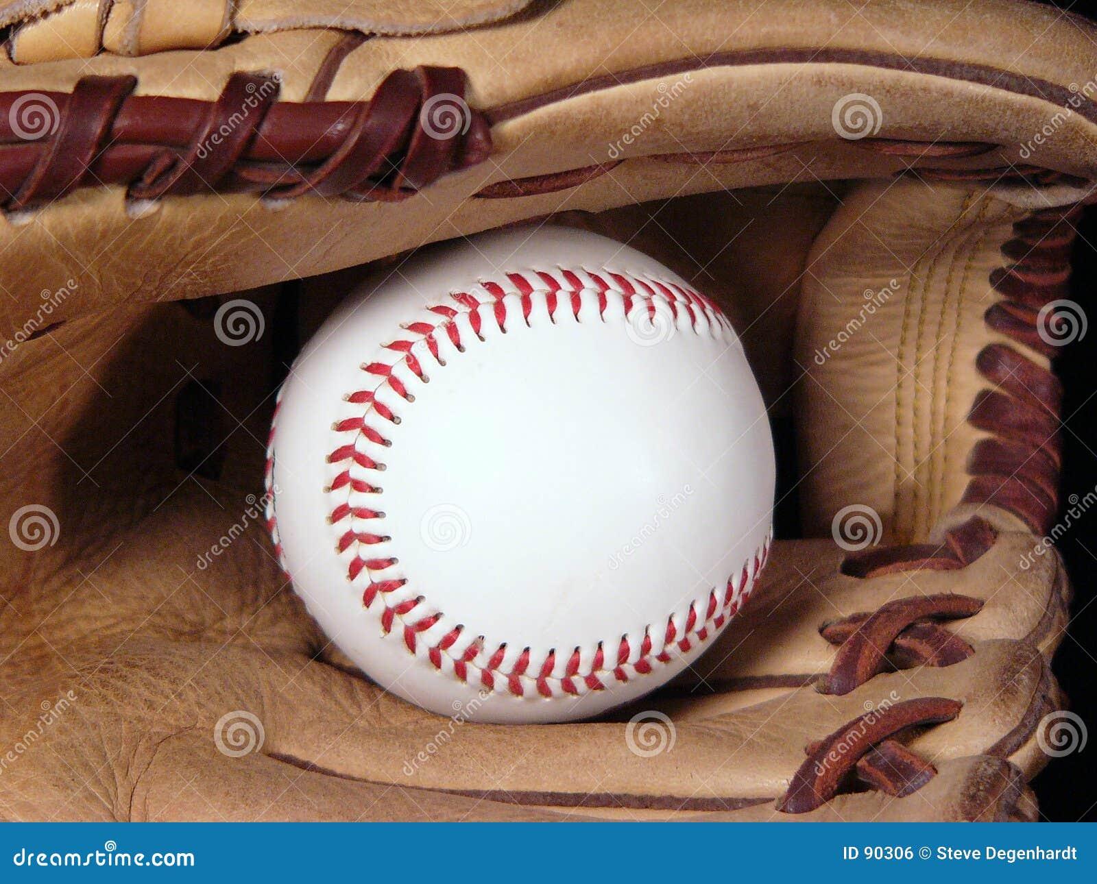 Blisko się mitenka baseball