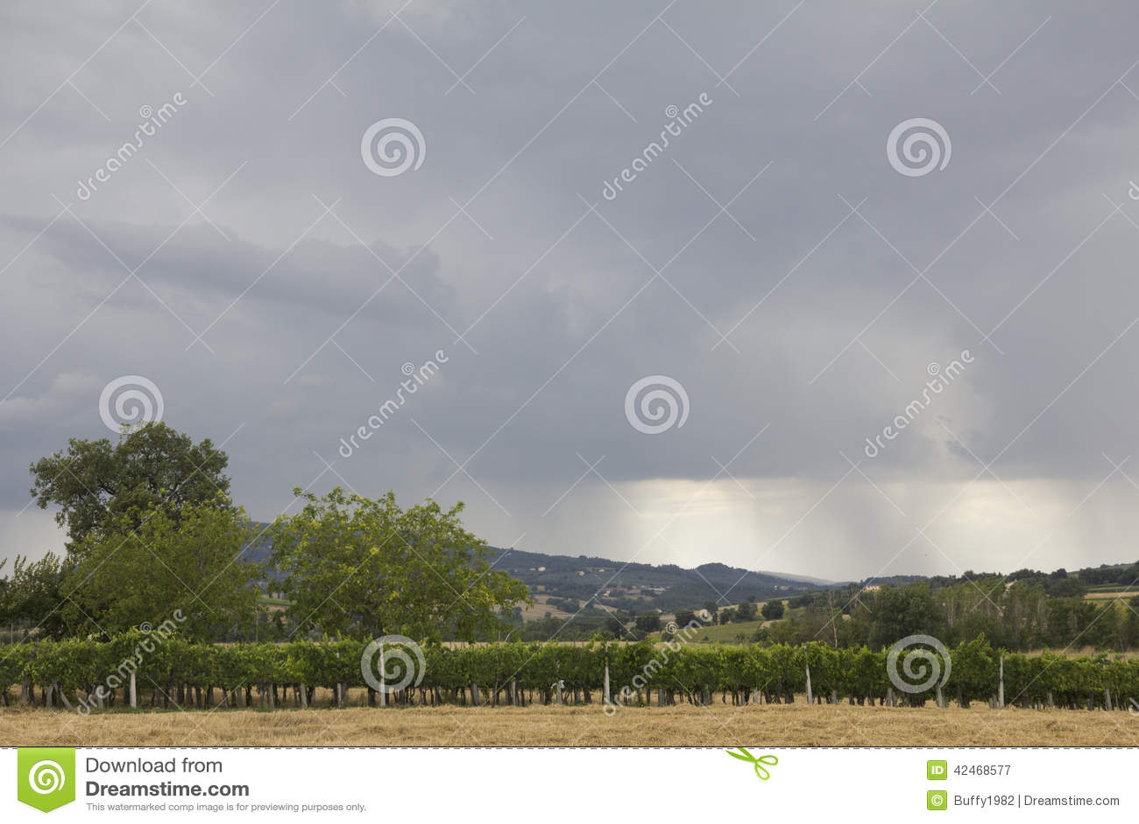 Blitz-Sturm in Kolorado USA