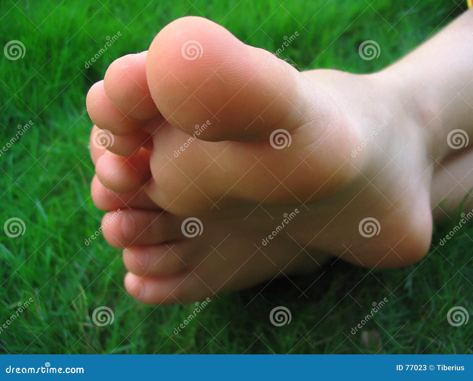 Bloße Füße