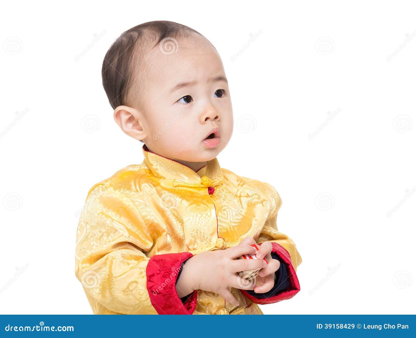 Bloc chinois de jouet de jeu de bébé garçon