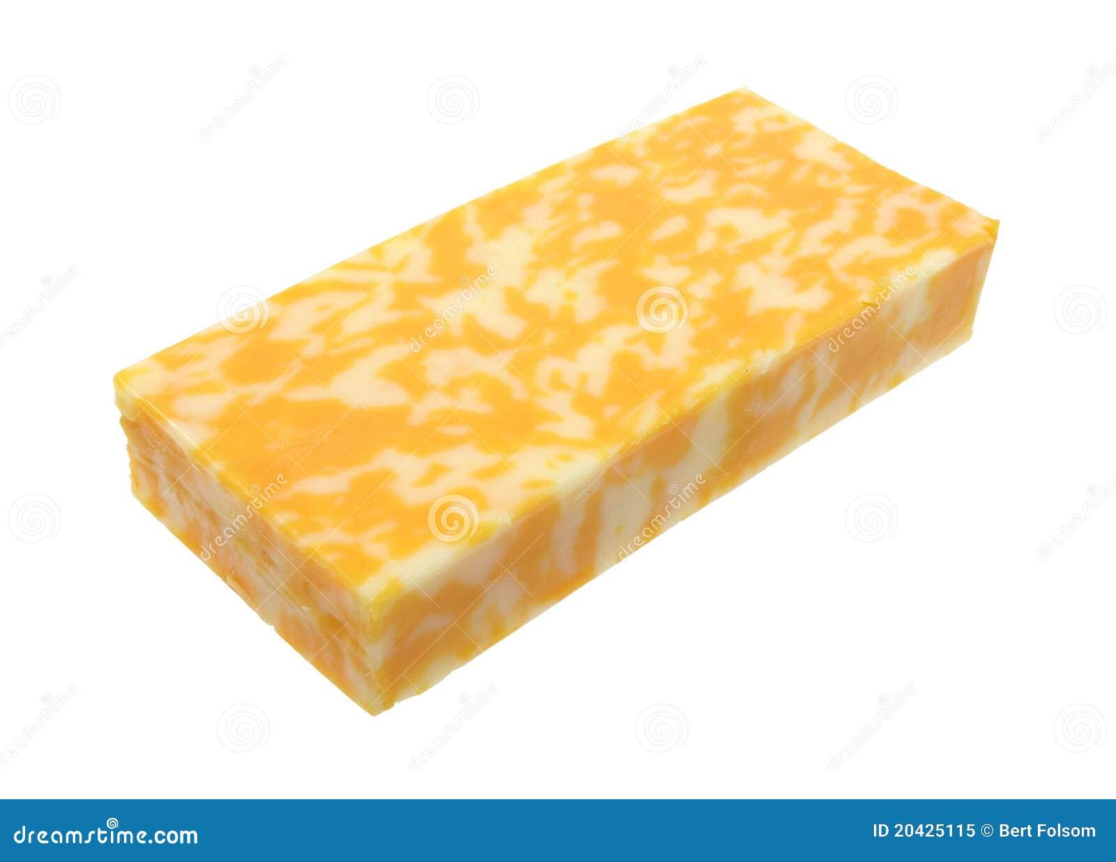 Bloc de fromage de Colby Jack