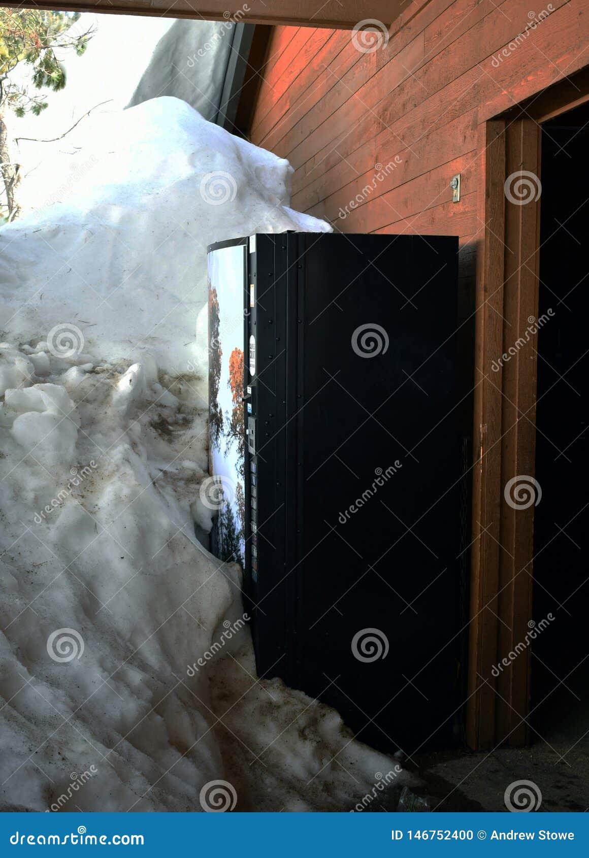 Bloc de machine de soude par la neige