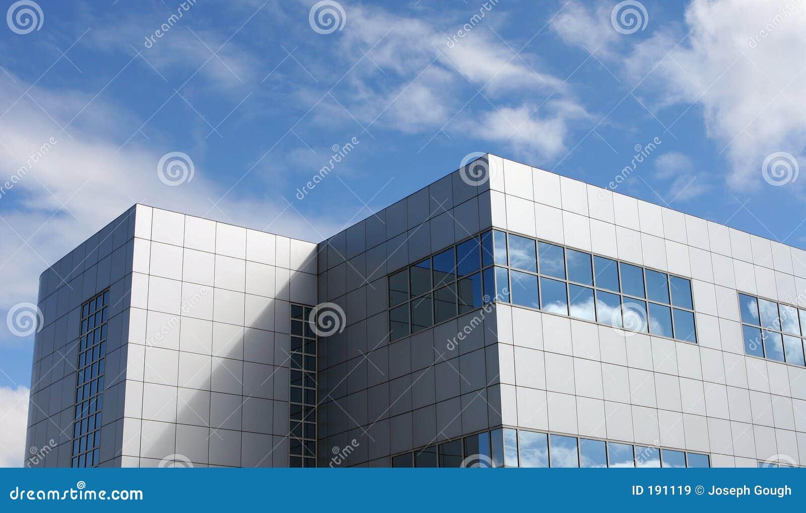 Bloc moderne d immeuble de bureaux