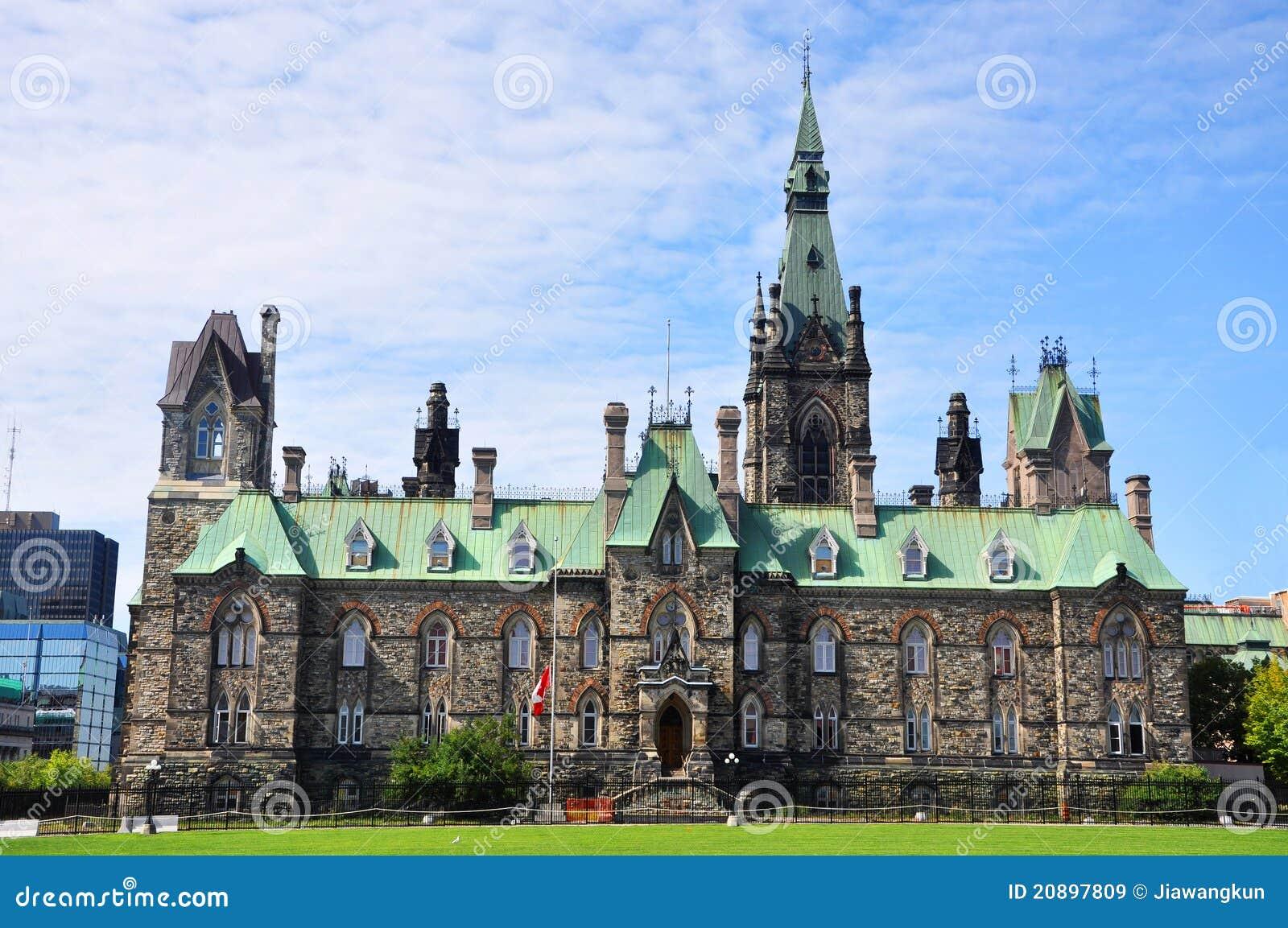 Bloc occidental de constructions du Parlement, Ottawa