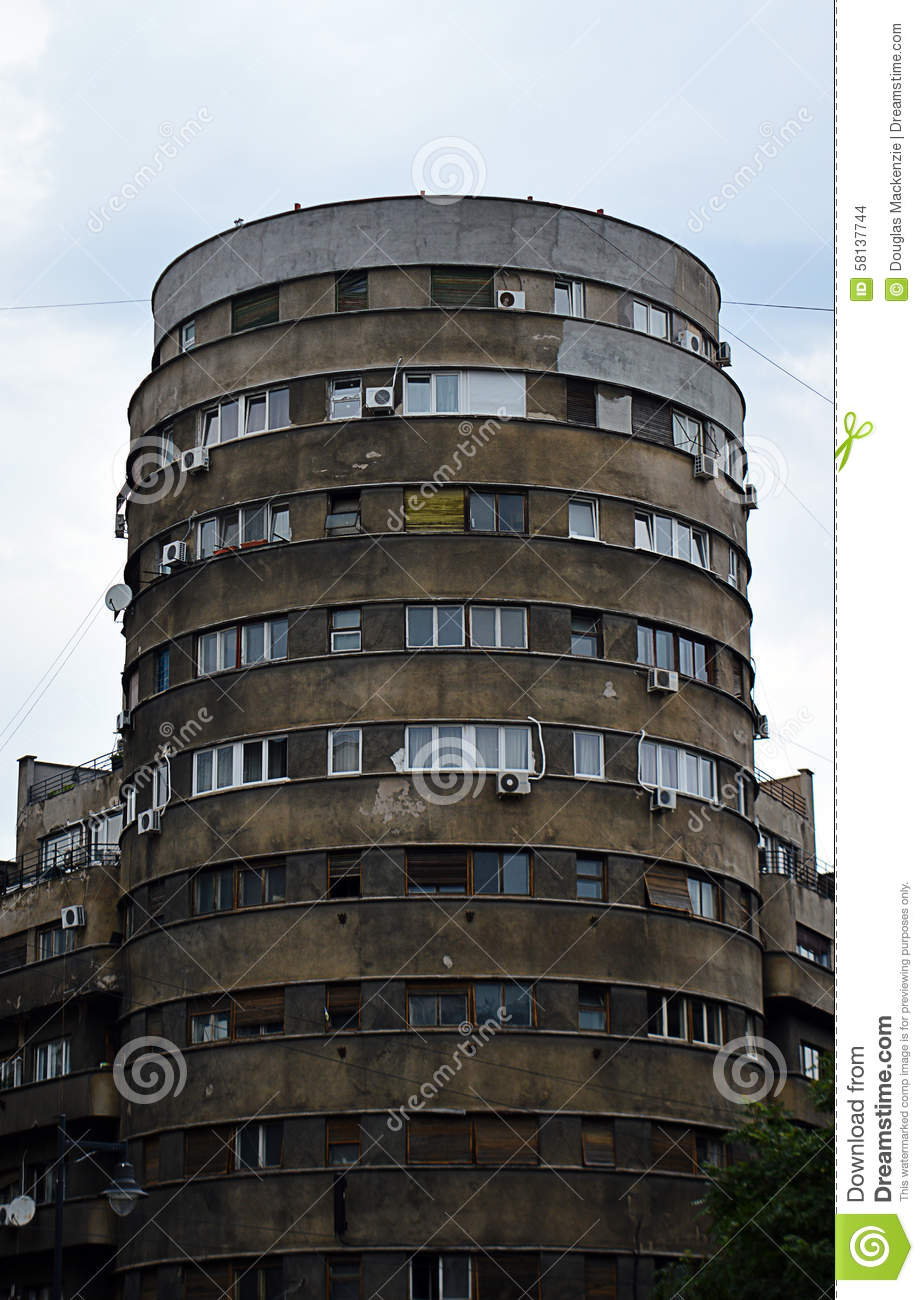 Bloc tehnoimport 1930s modernist architecture bucharest for Architecture 1930