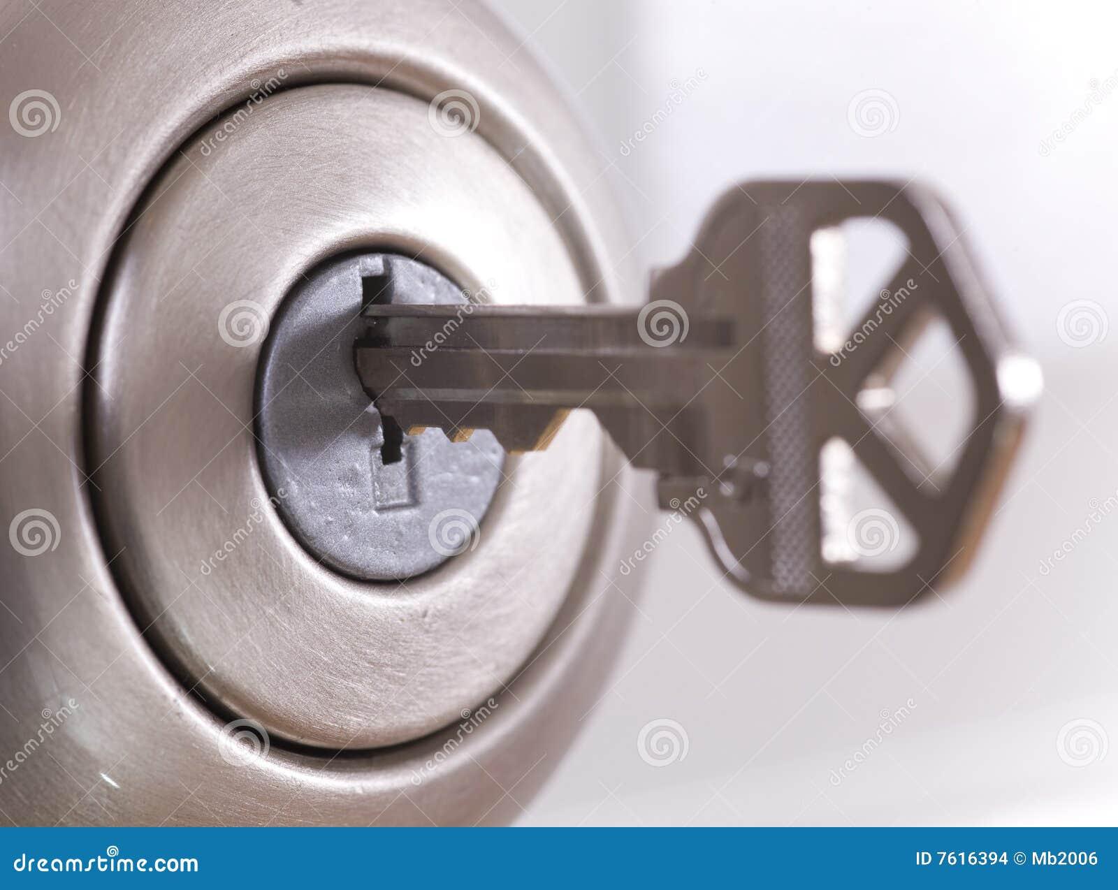 Blocage et clé