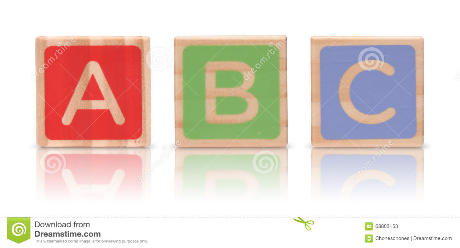 Blocchetti di legno di alfabeto