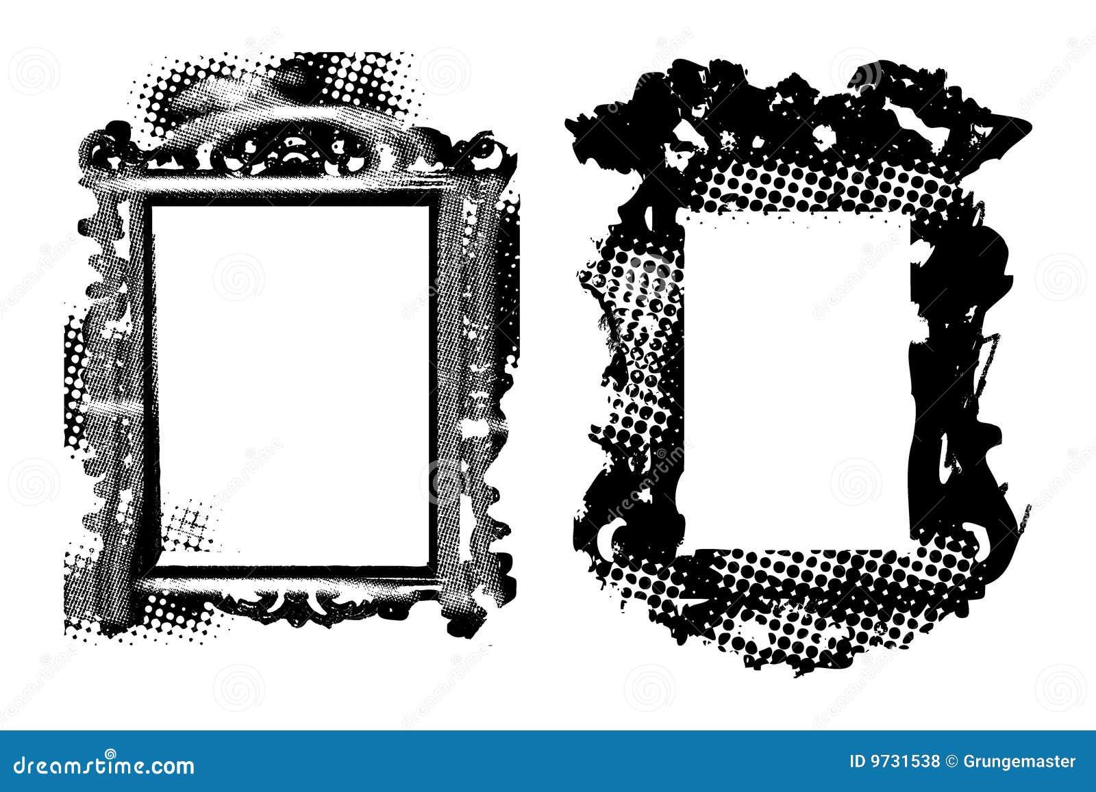 Blocchi per grafici antichi Grungy