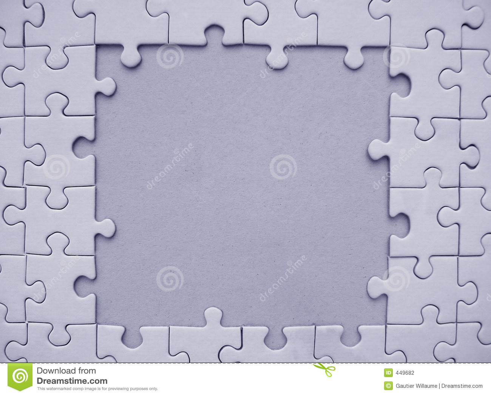 Blocco per grafici del puzzle