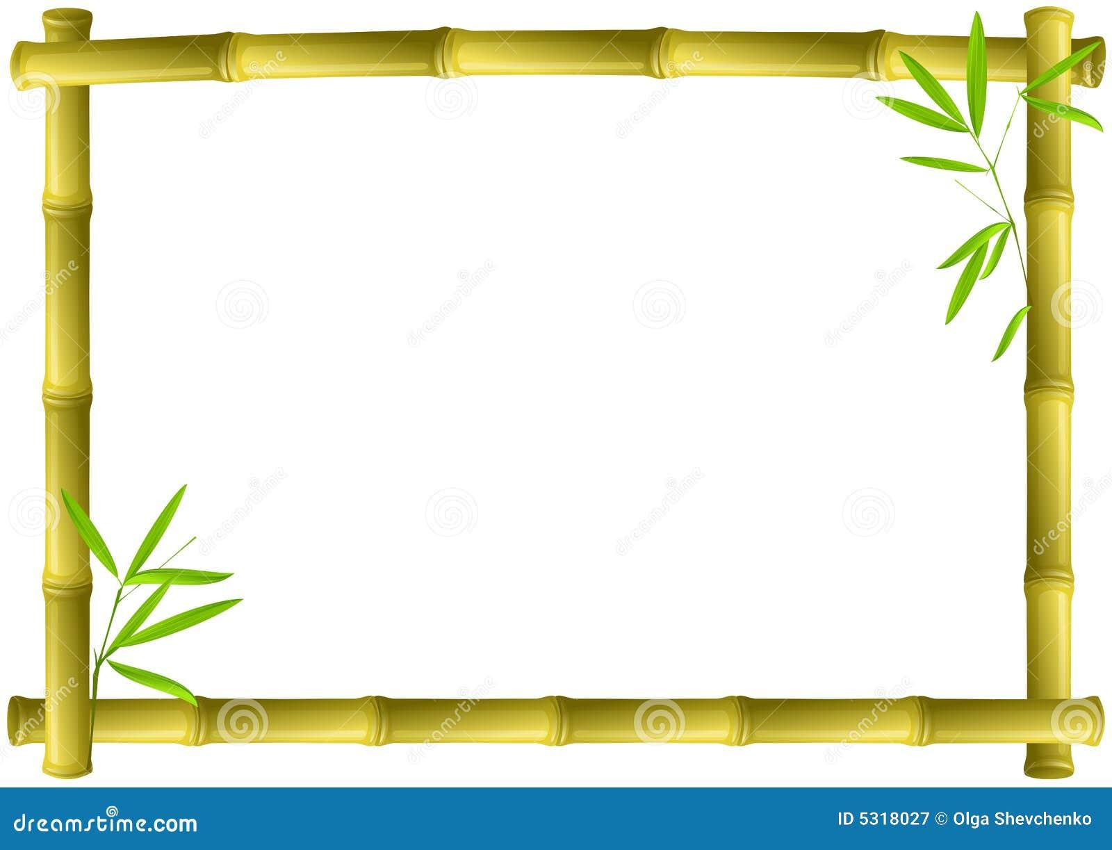 Download Blocco Per Grafici Di Bambù Illustrazione Vettoriale - Illustrazione di legno, bordo: 5318027