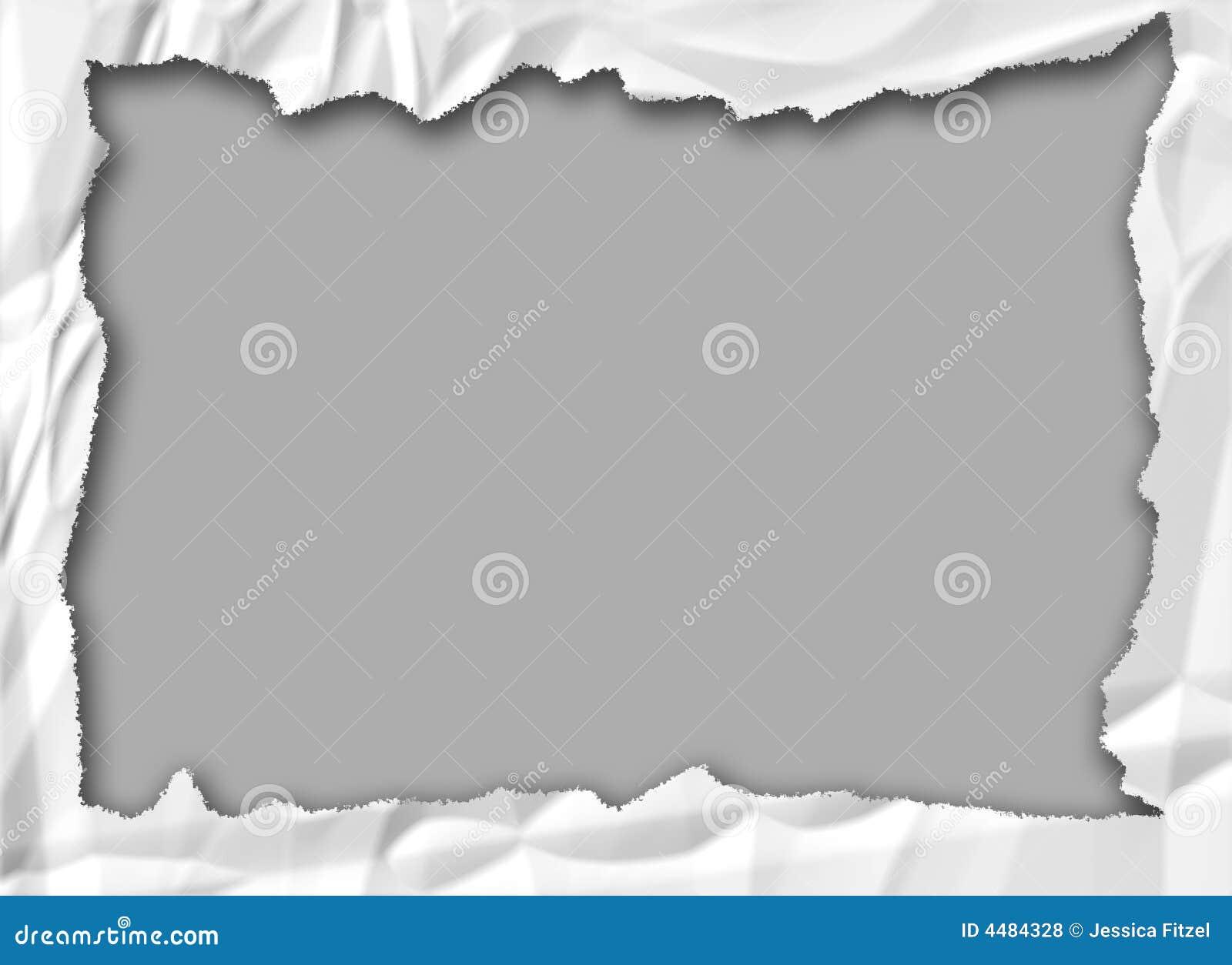 Blocco per grafici di carta sgualcito