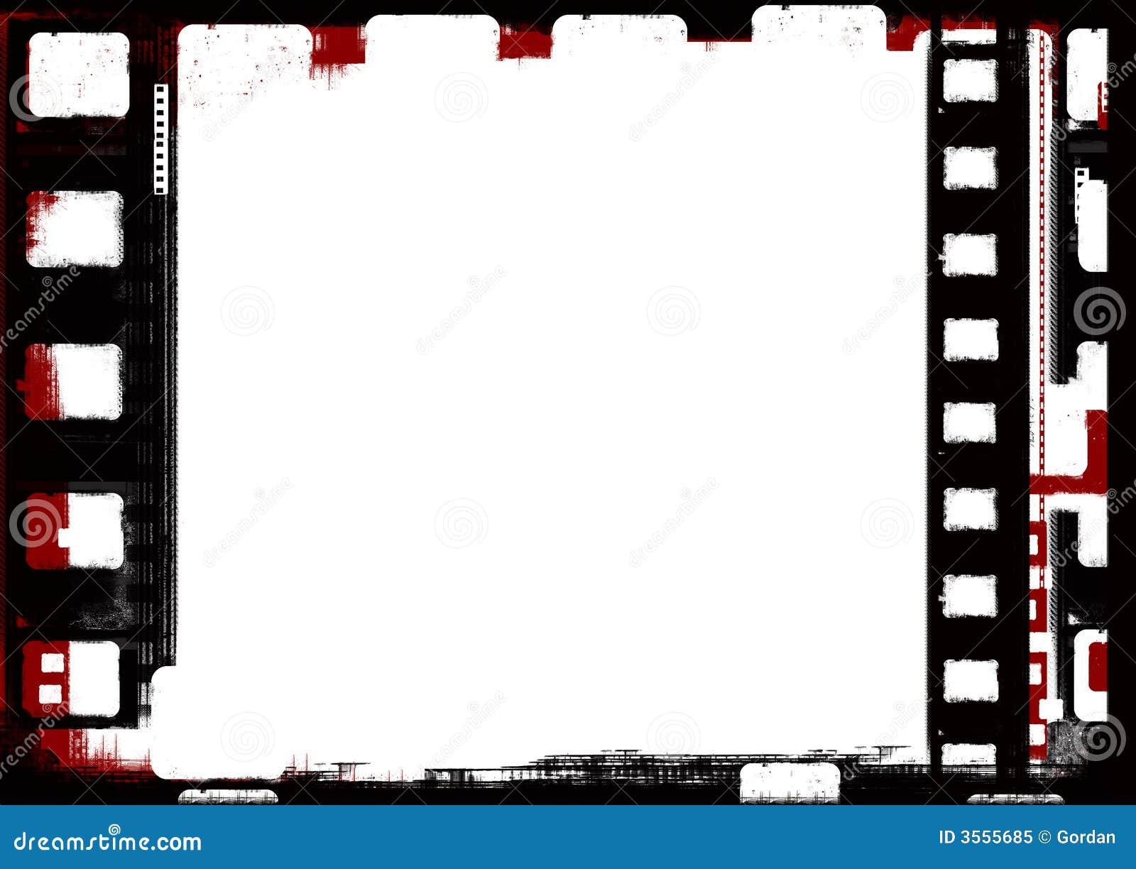 Blocco per grafici di pellicola di Grunge