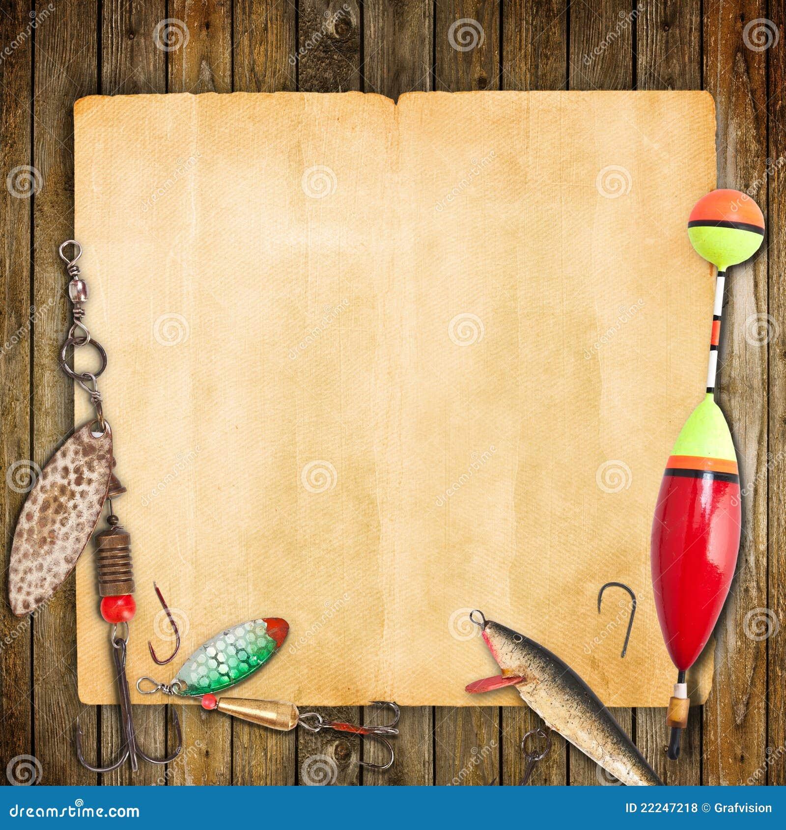 Blocco per grafici di pesca