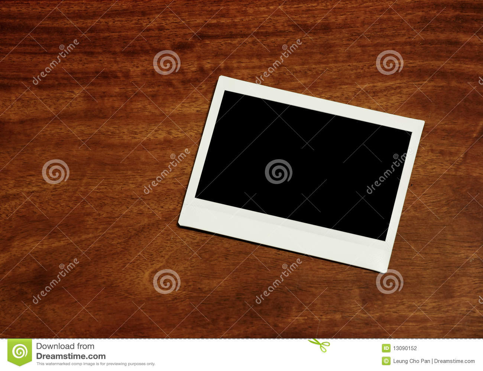 Blocco per grafici istante vuoto della foto