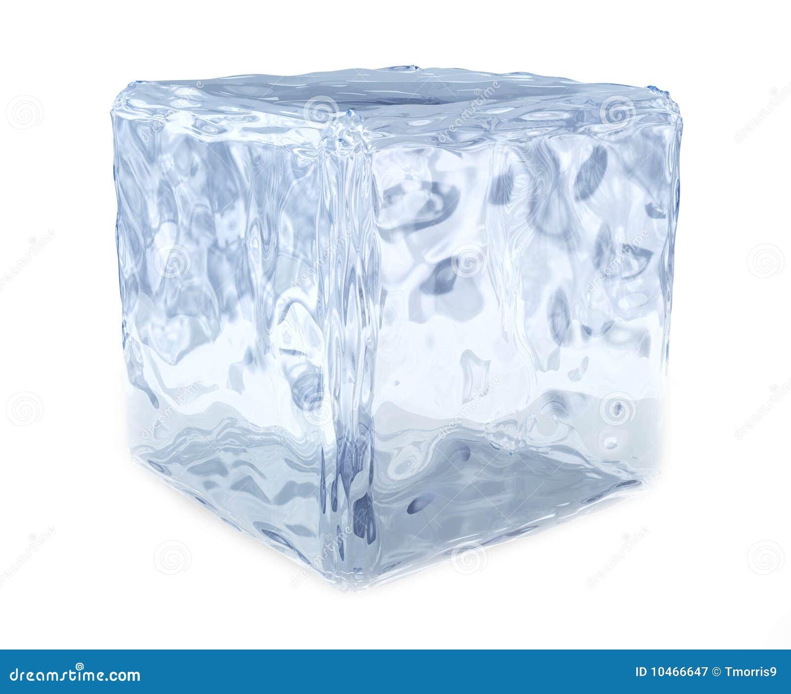 Frozen Ice Cube Block of ice