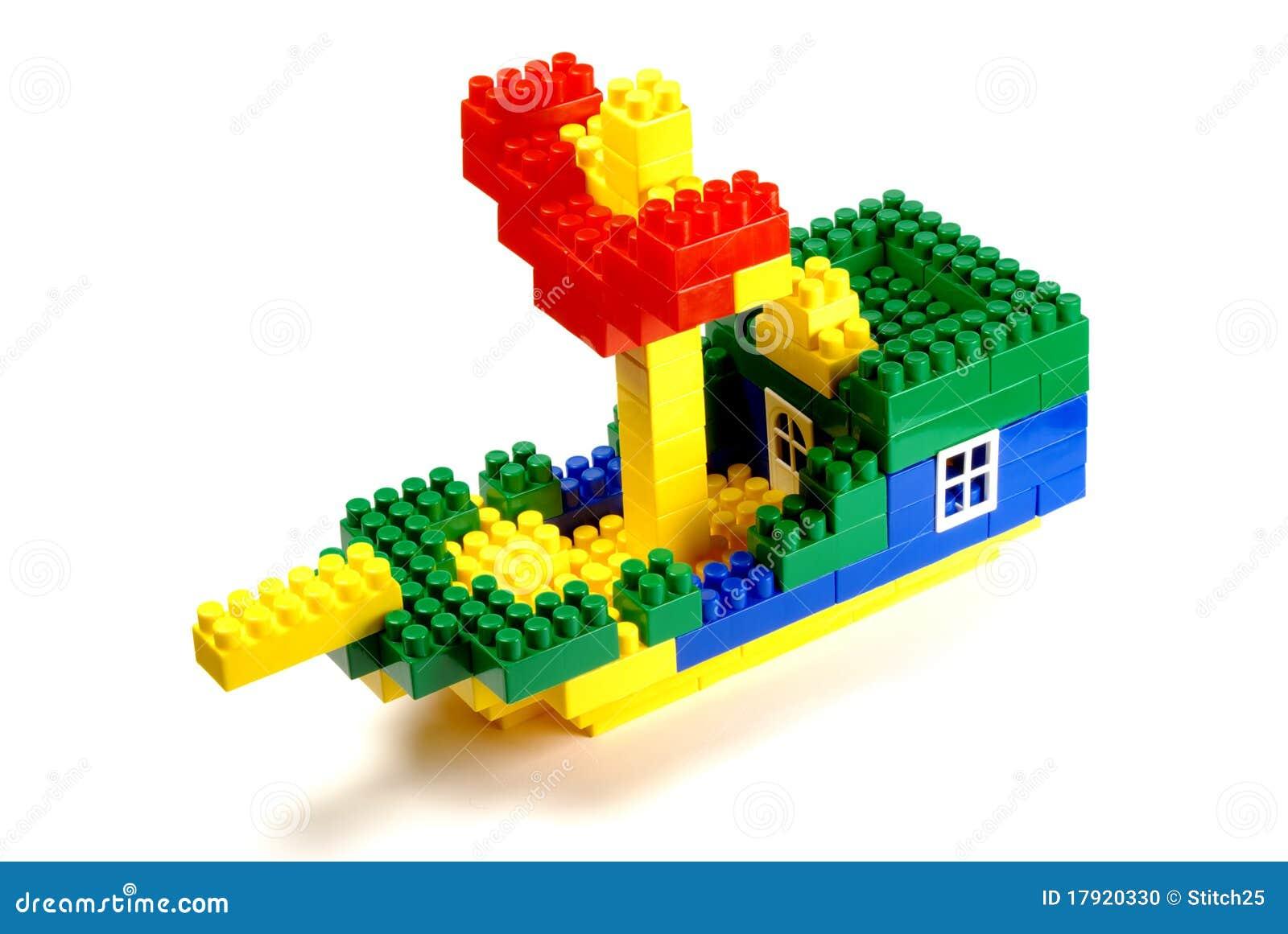 Block som bygger shiptoyen