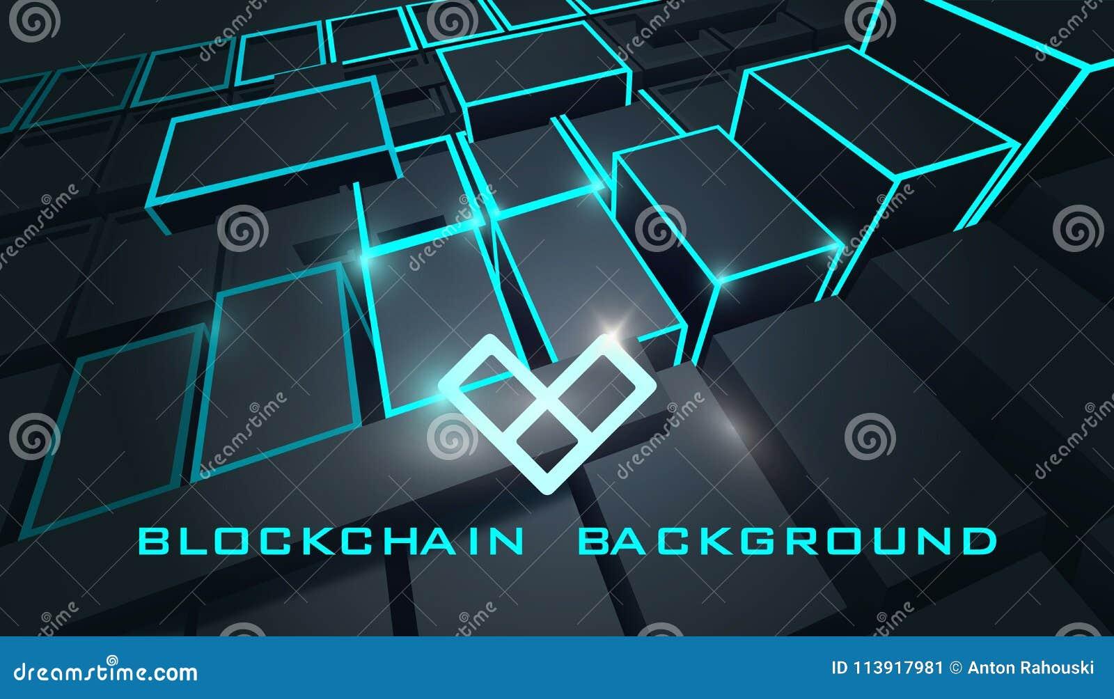 Blockchain Technology Background Abstract Blockchain