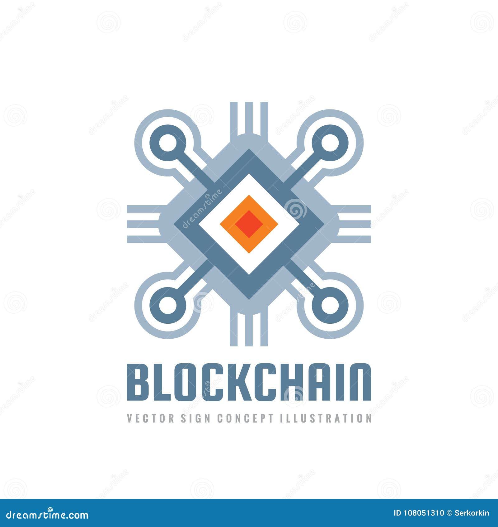 Blockchain technology vector logo template concept illustration download blockchain technology vector logo template concept illustration abstract geometric business sign digital cheaphphosting Images