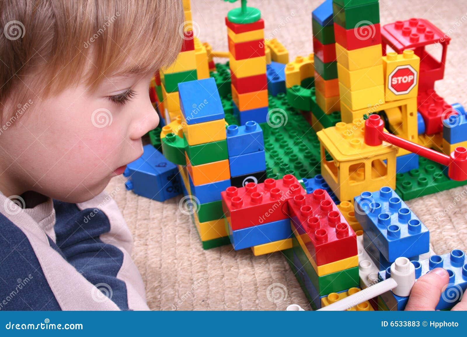 Blockerar barntoyen