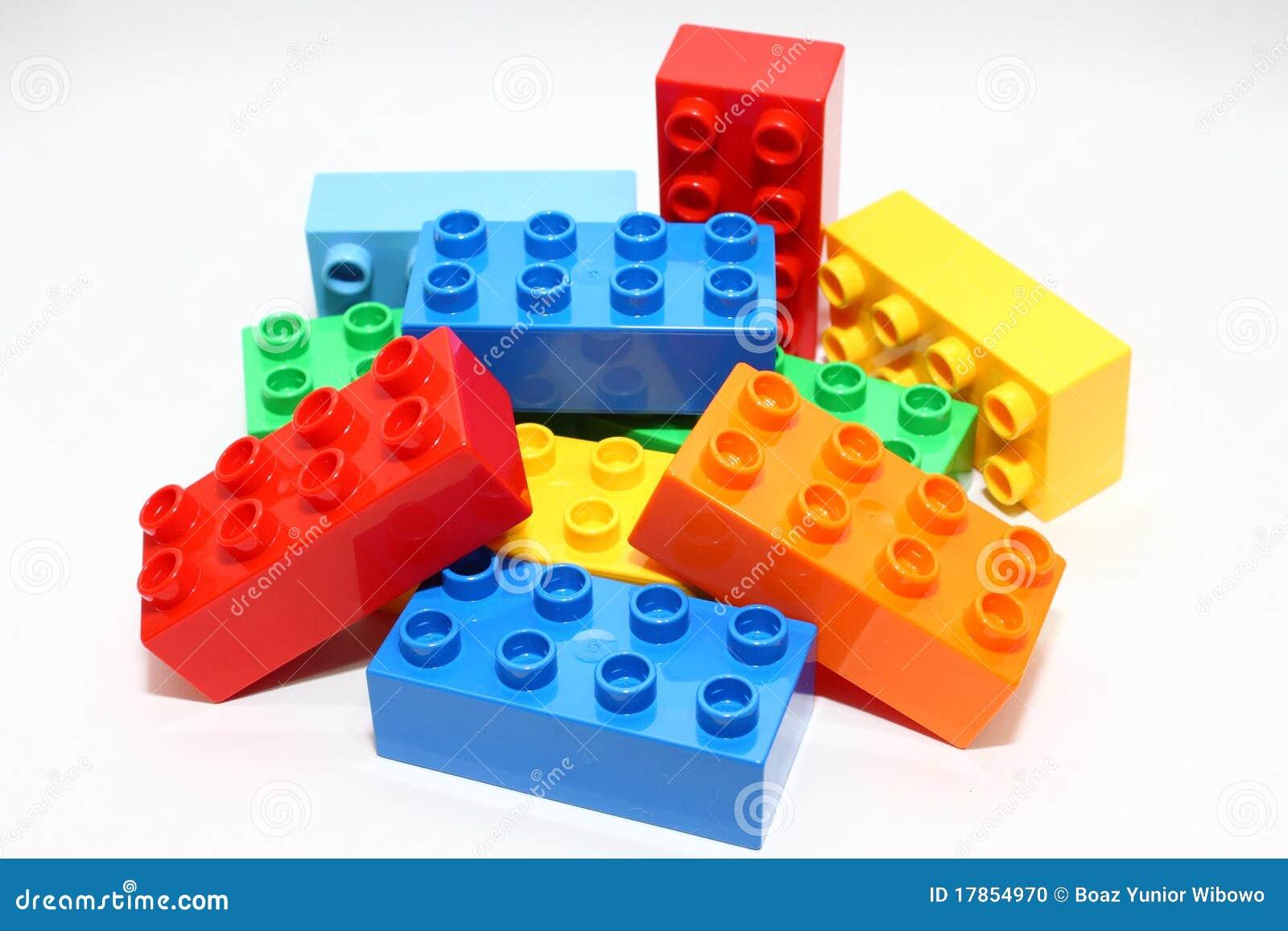 Blockerar lego