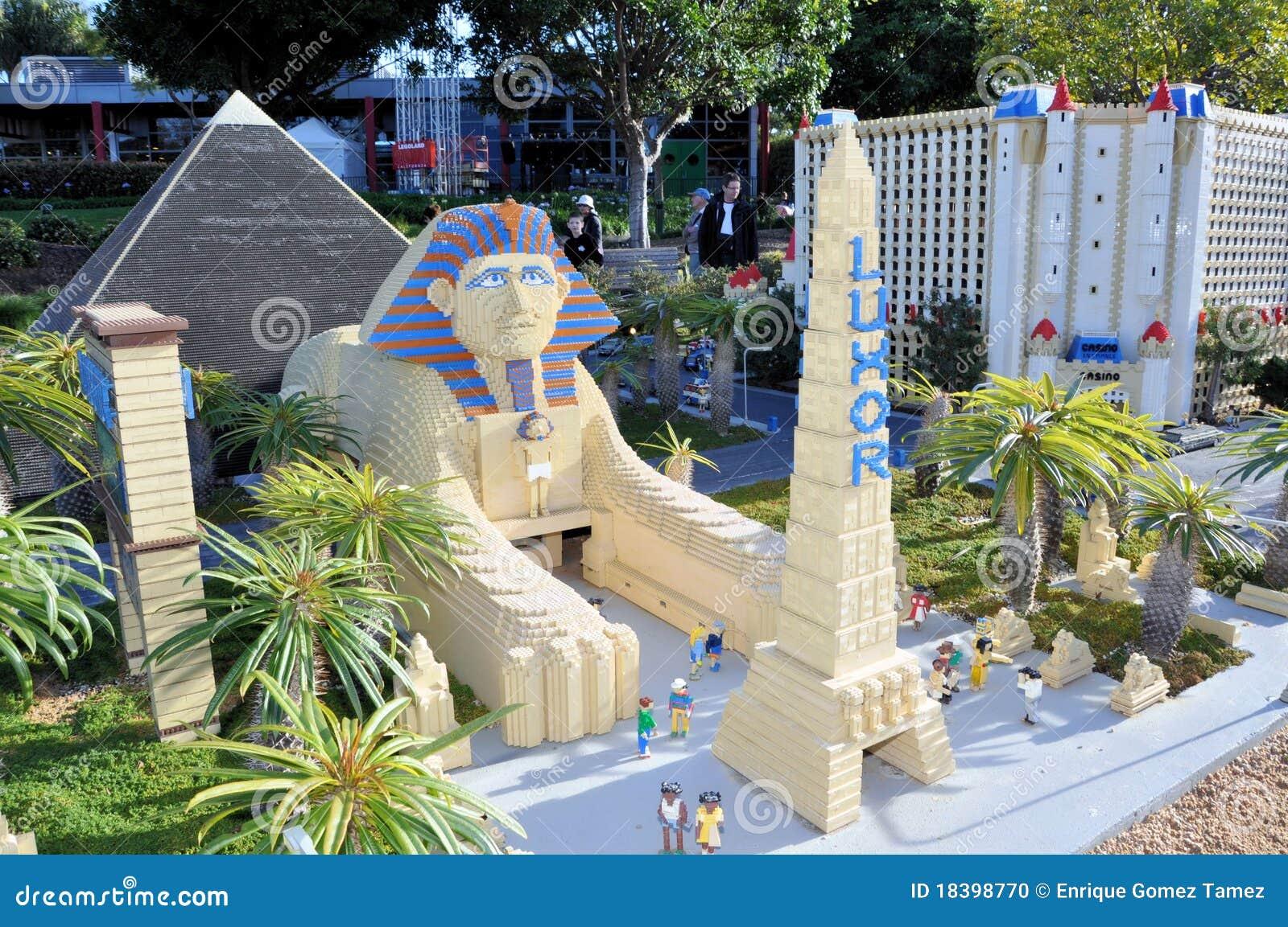 Blockerar stadslas legoen gjorda vegas