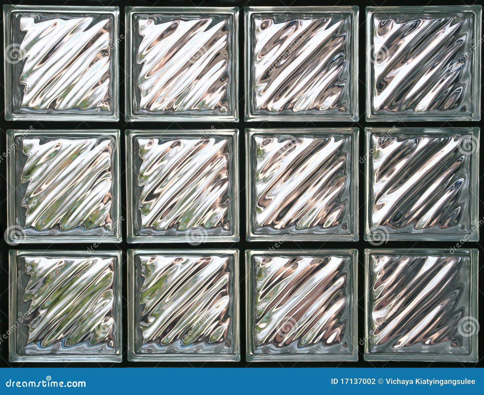 Blockglasvägg