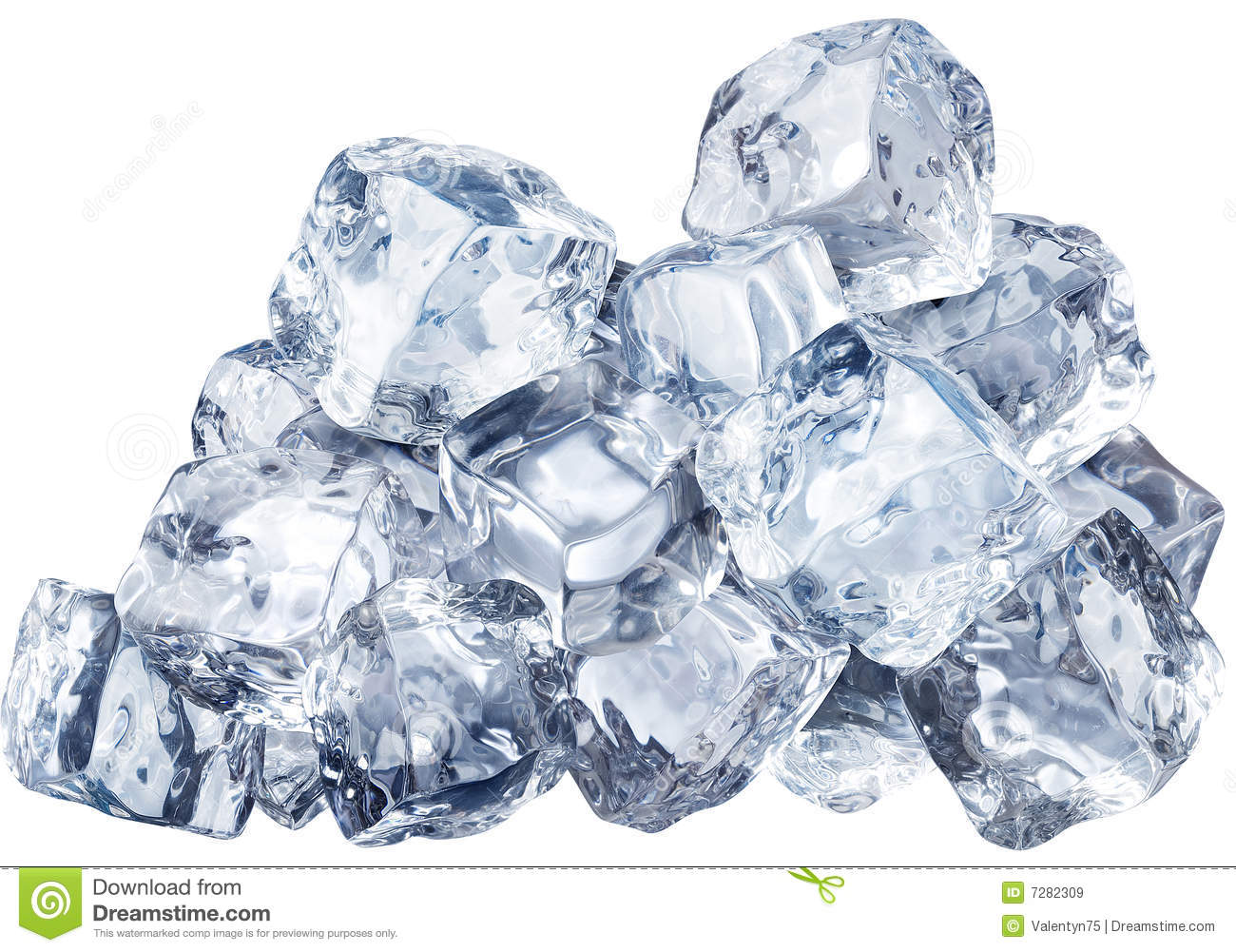 Blocks Of Ice Royalty Free Stock Images - Image: 7282309