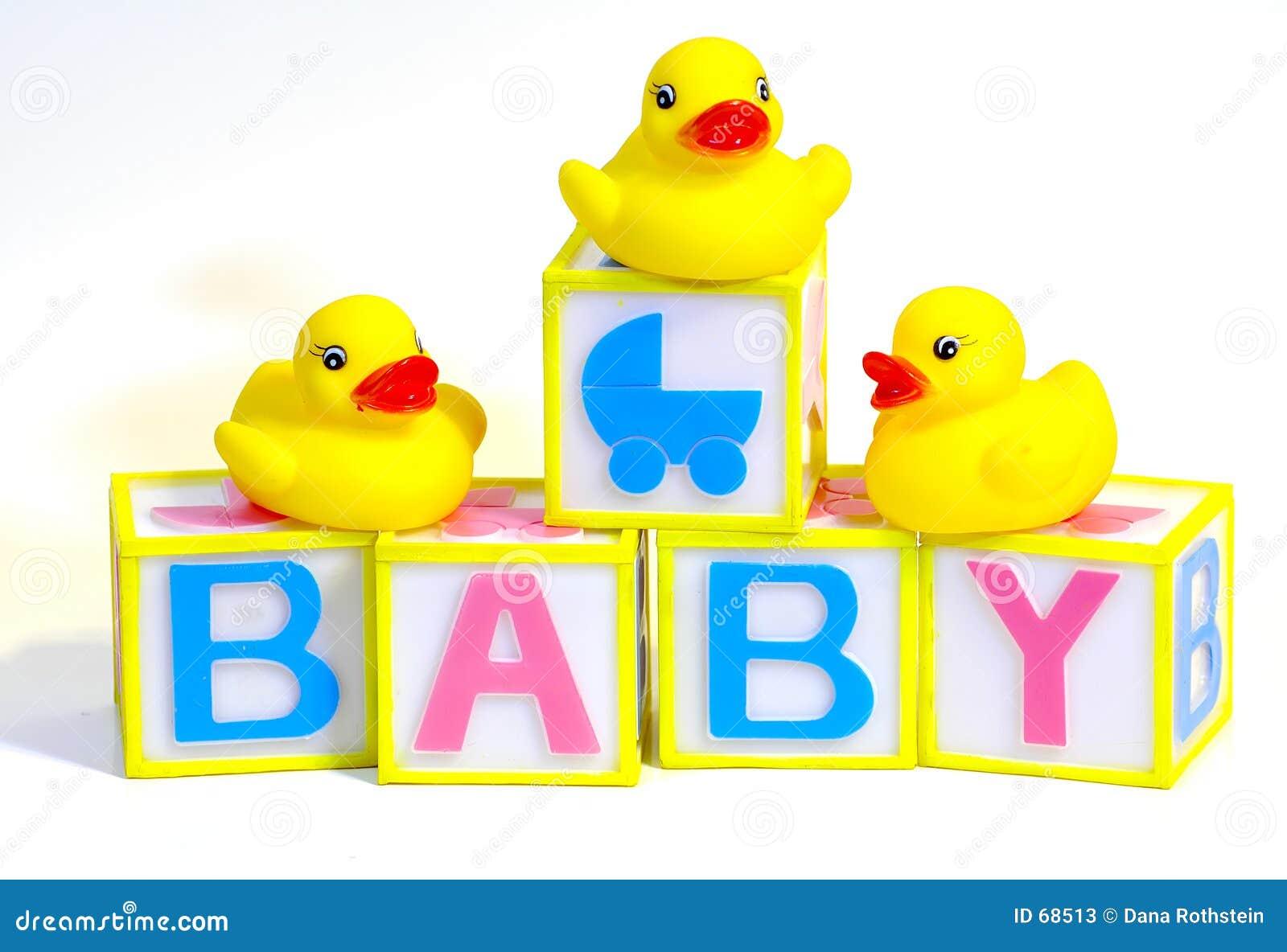 Blocks And Rubber Ducks Stock Photos - Image: 68513