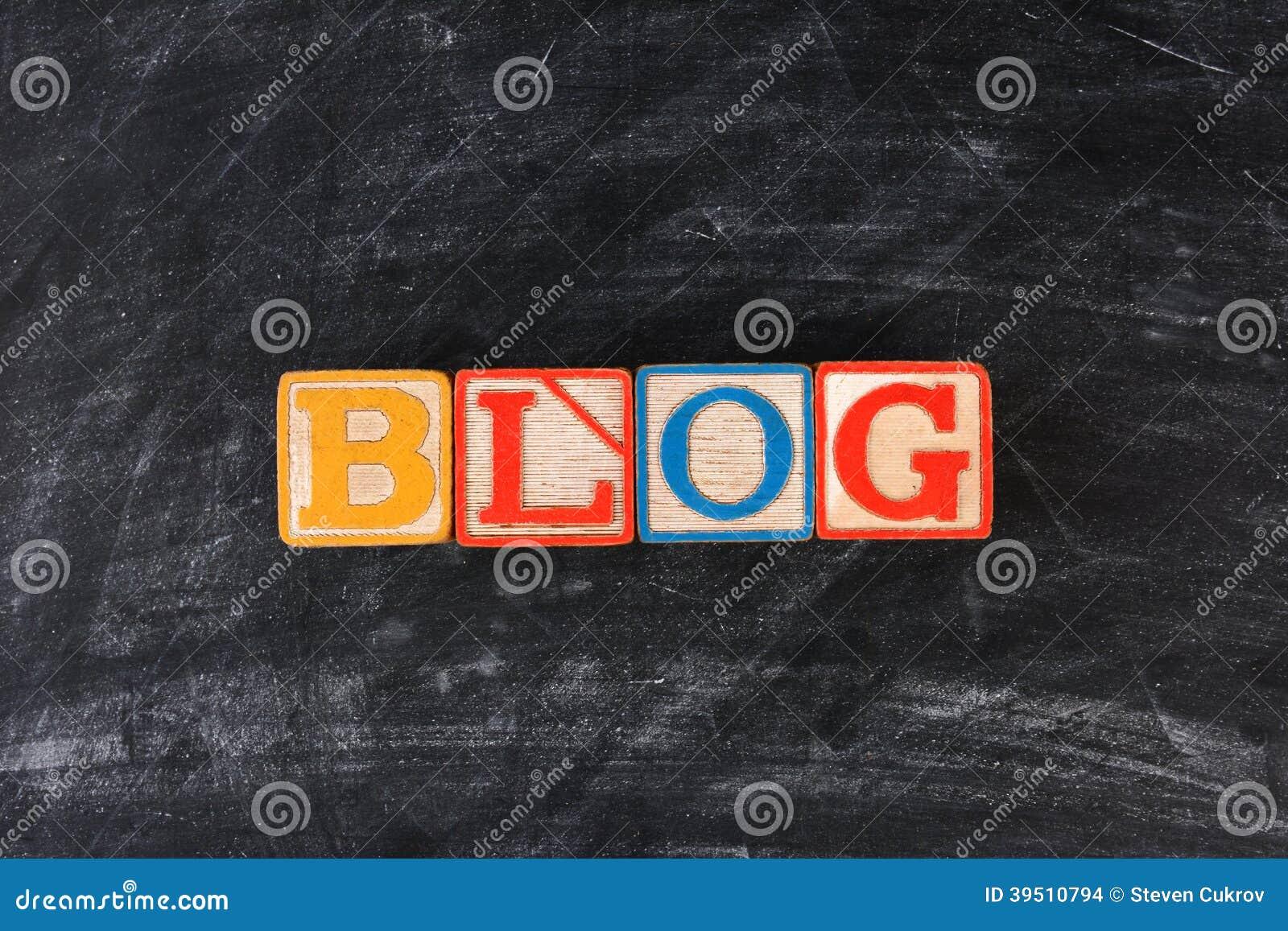 Blocks Spelling Out Blog
