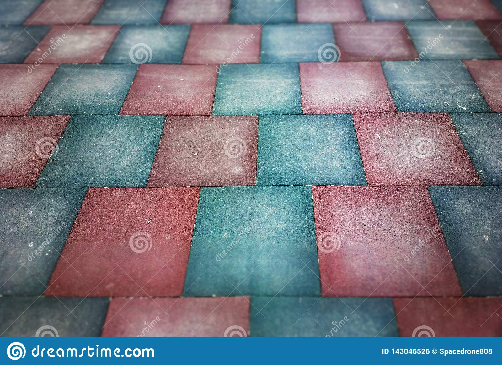 Blocks And Tiles On Street Floor Texture Background Hd Stock