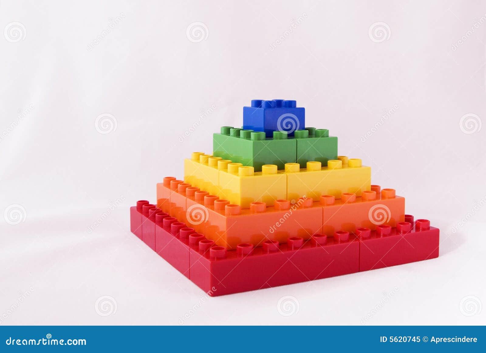 Blocky Pyramide