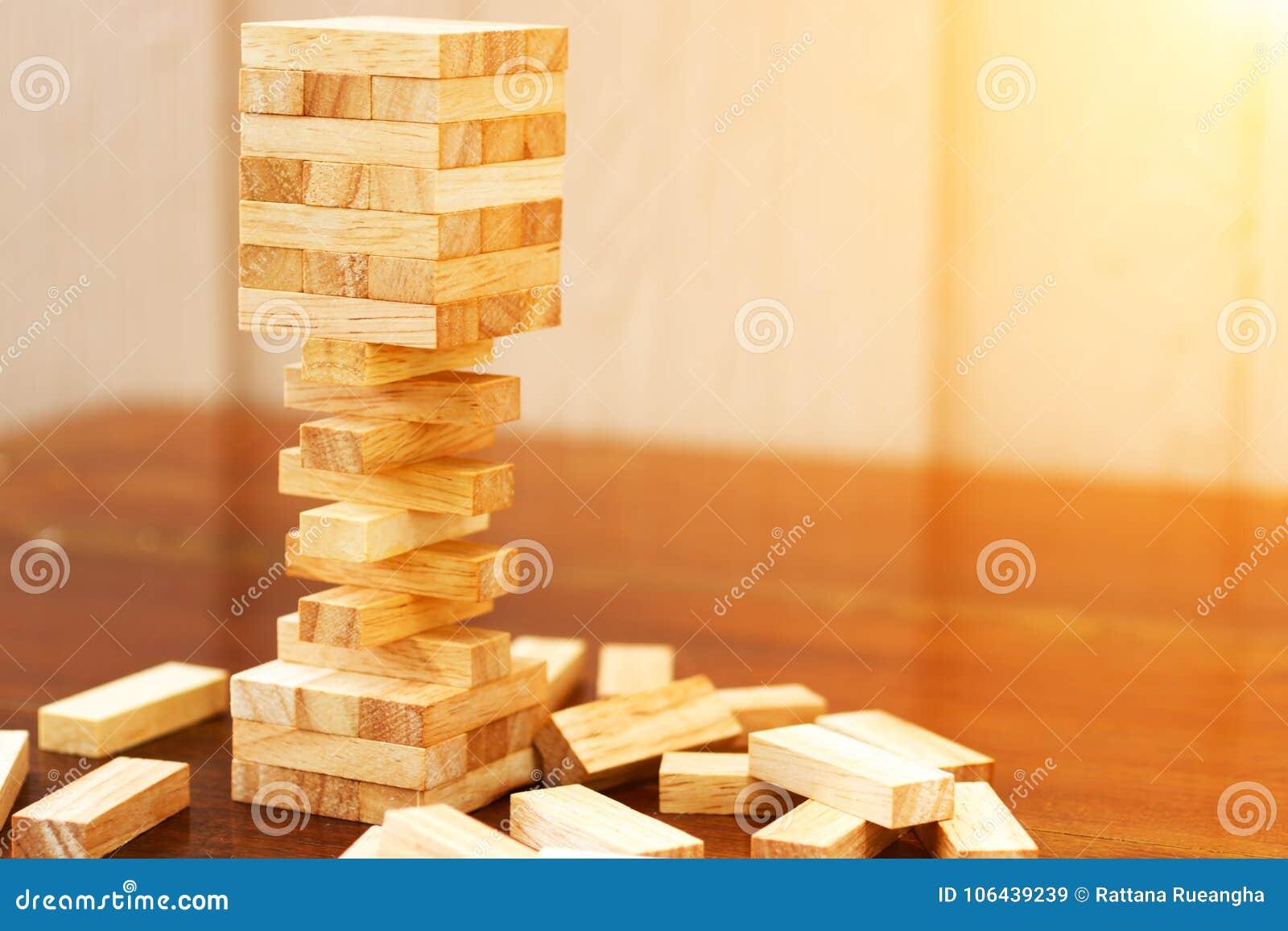 Bloco de madeira