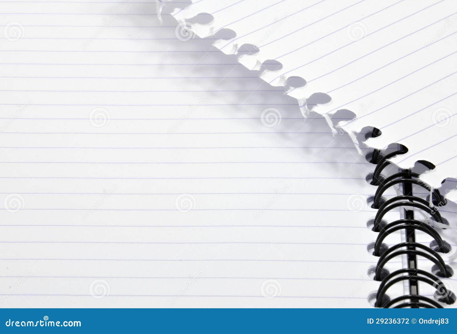 Download Bloco de notas foto de stock. Imagem de página, vazio - 29236372