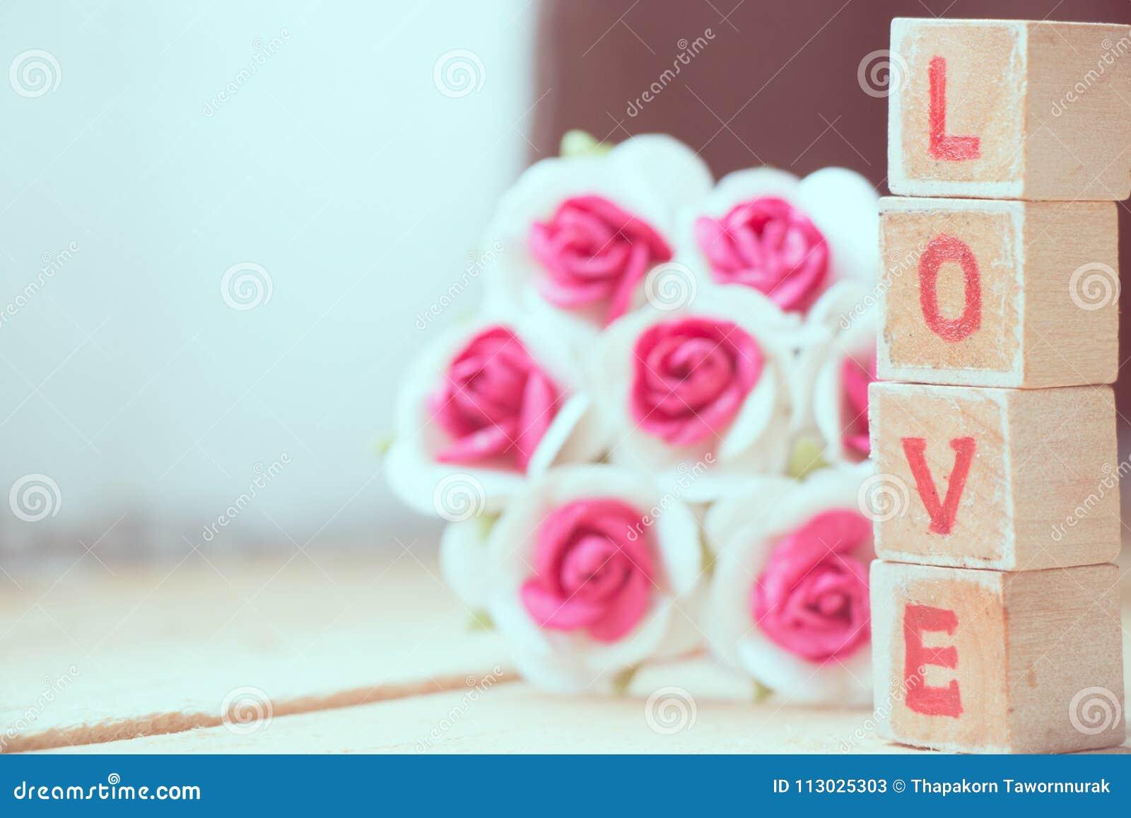 Bloco de palavra do amor