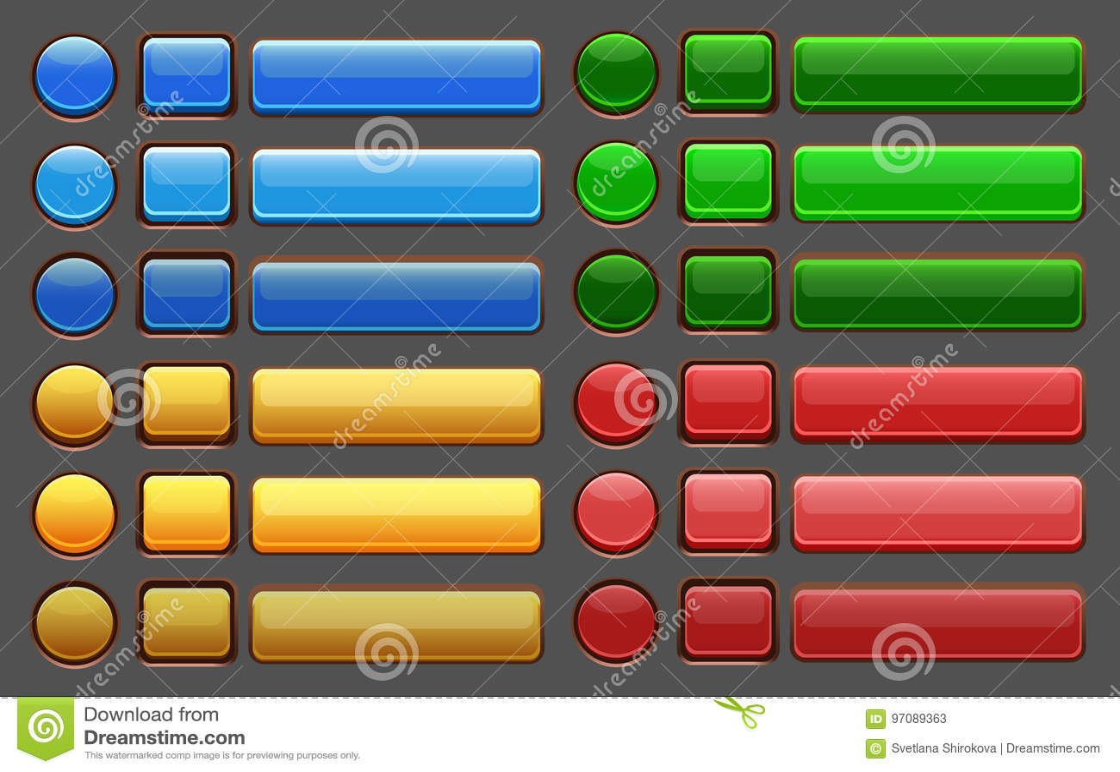 Bloco do GUI dos botões do jogo