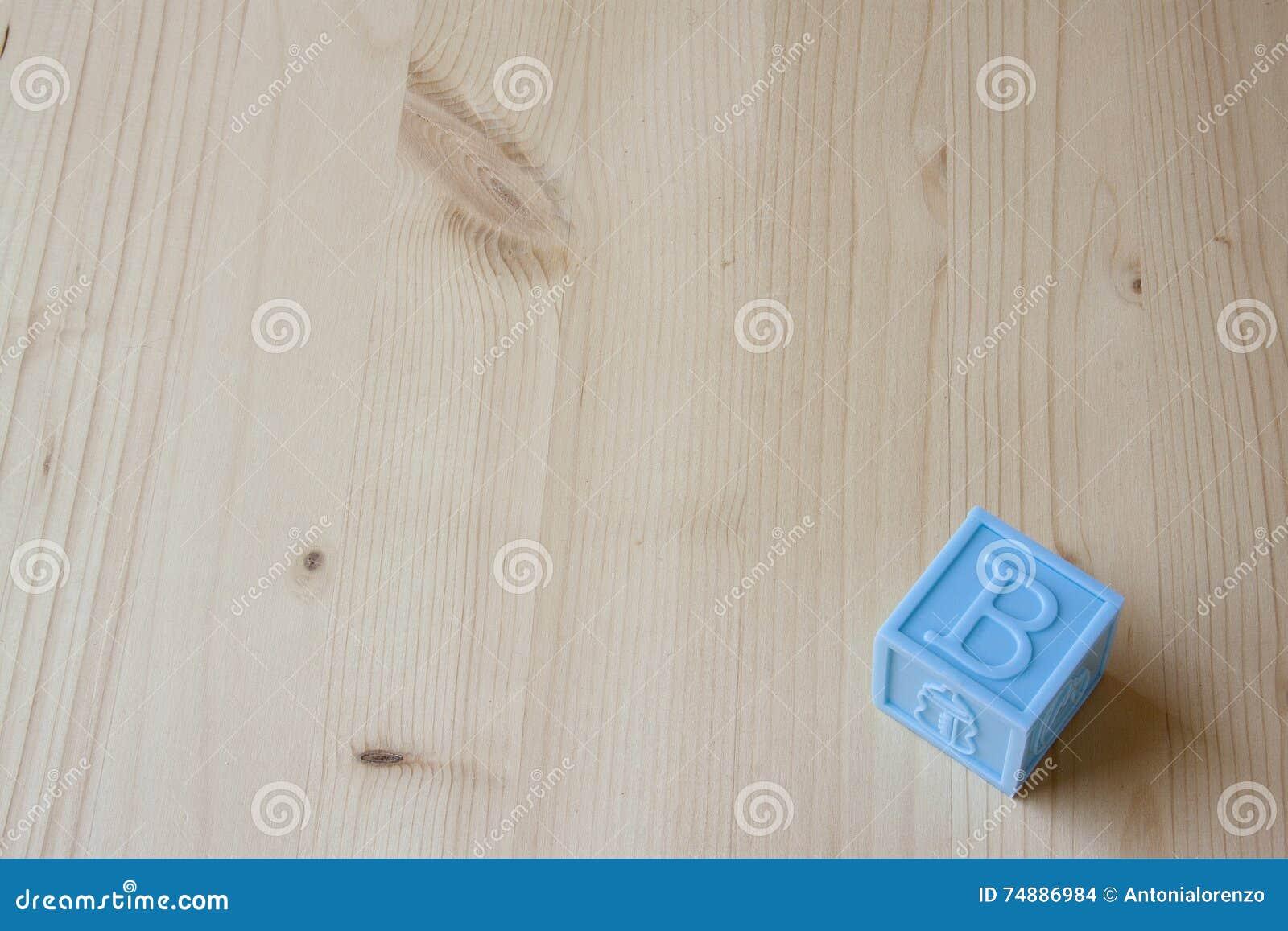 Blocos do bebê azul