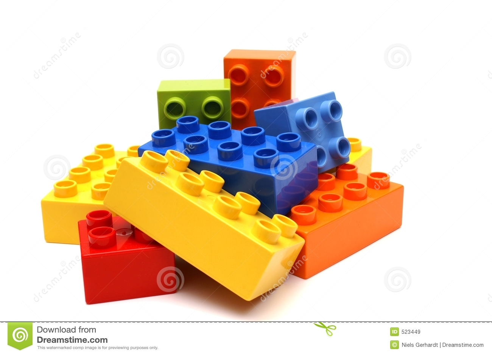 blocs de lego image stock image du pi ce blocs construction 523449. Black Bedroom Furniture Sets. Home Design Ideas