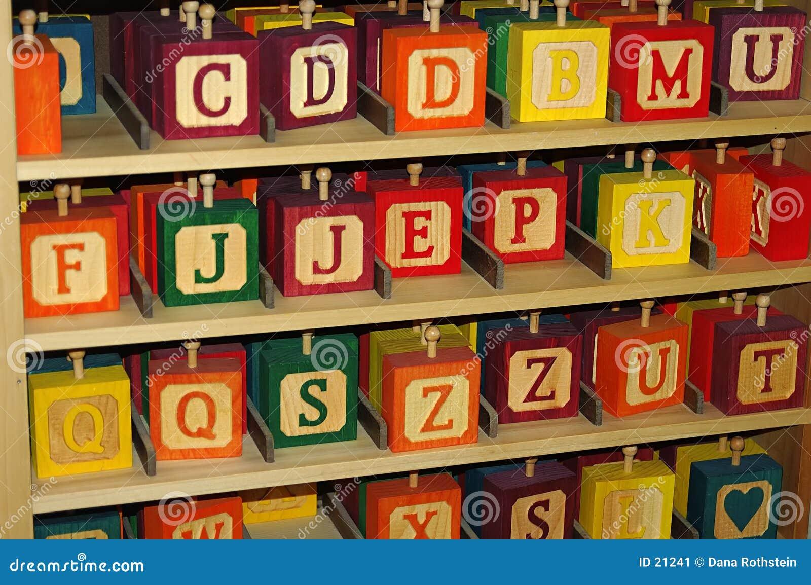 Blocs de lettre