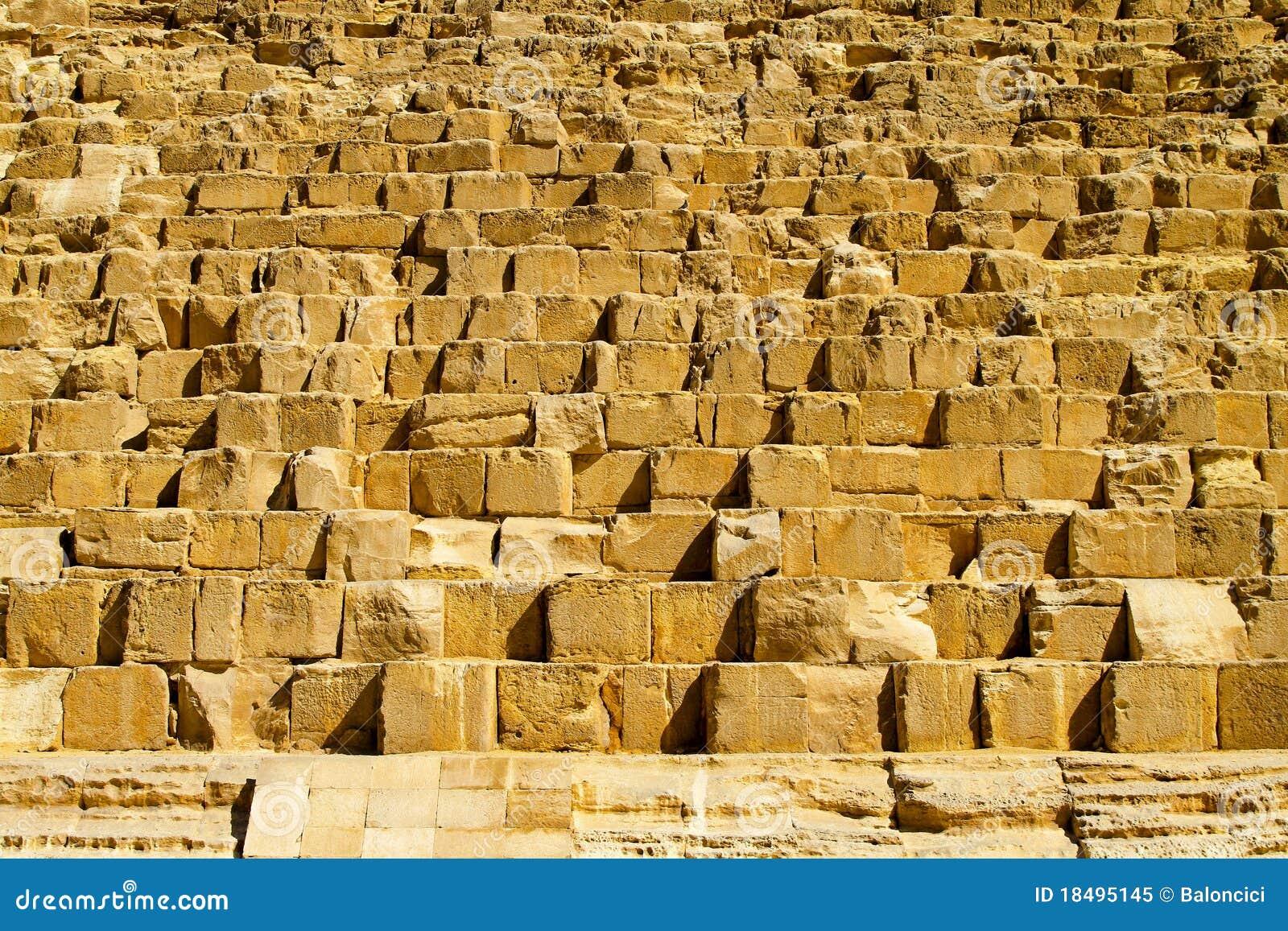 blocs de pierre de pyramide photo libre de droits image 18495145. Black Bedroom Furniture Sets. Home Design Ideas