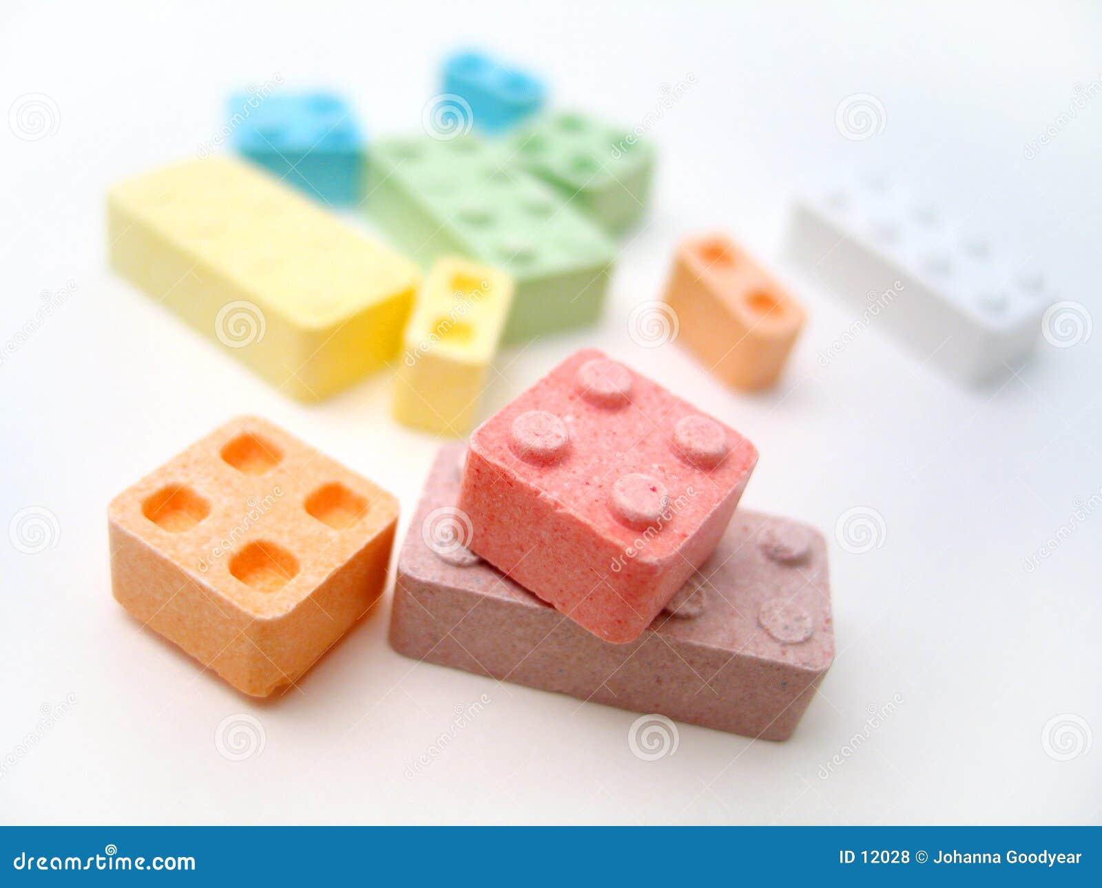 Blocs de sucrerie