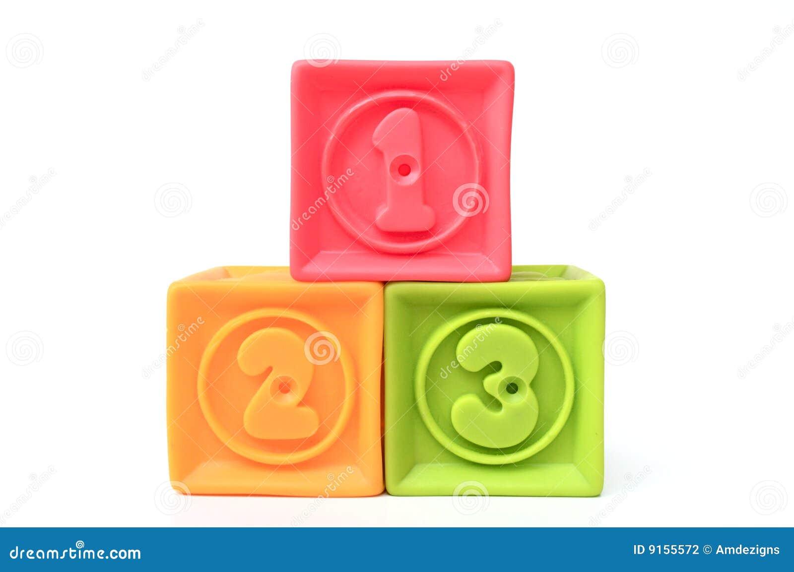 Blocs numérotés
